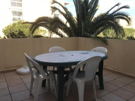 LOCATION VACANCES T3  Parking terrasse LE GRAU DU ROI