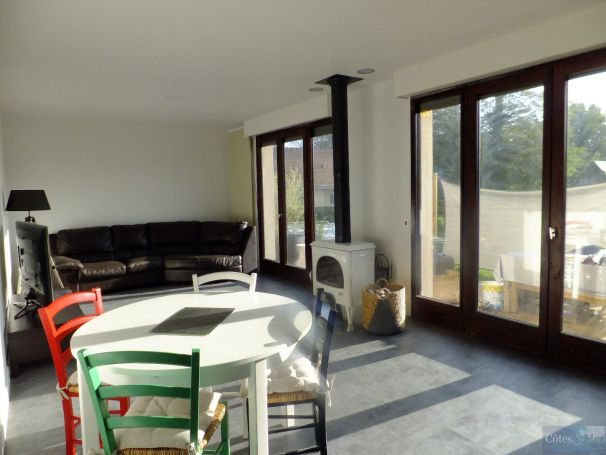 A vendre PAVILLON CONTEMPORAIN 9 PIECES 188 M² SAINT VALERY EN CAUX