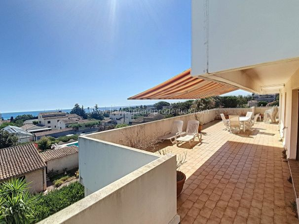 A vendre Superbe PENTHOUSE 94 M² vue mer panoramique ANTIBES