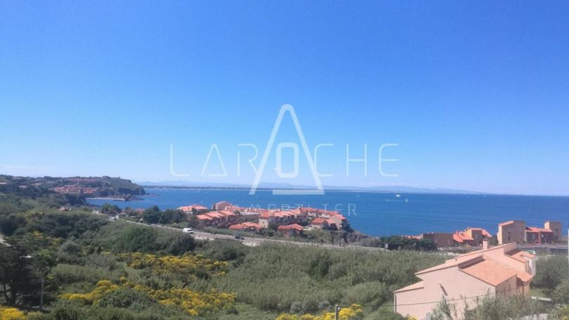 APPARTEMENT NEUF T2 48 M2 TERRASSE VUE MER PORT VENDRES