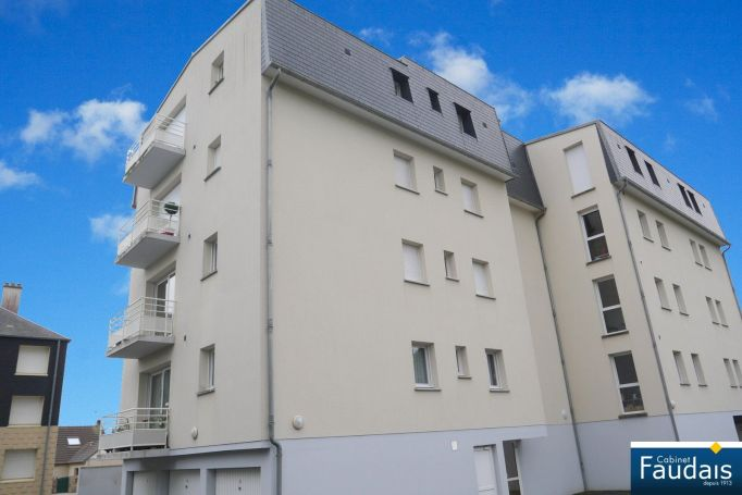APPARTEMENT T2 62 M2  COUTANCES